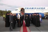 Начался Первосвятительский визит Святейшего Патриарха Кирилла в Калининградскую епархию