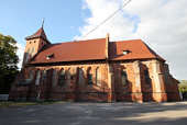 Предстоятель Русской Церкви посетил храм святой великомученицы Екатерины в селе Родники Гурьевского района Калининградской области