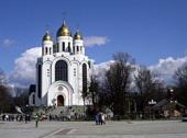 Святейший Патриарх Кирилл совершил Божественную литургию в кафедральном соборе Христа Спасителя в Калининграде