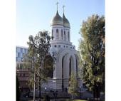 Предстоятель Русской Церкви совершил малое освящение храма в честь святых Петра и Февронии Муромских в Калининграде