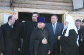Святейший Патриарх Кирилл посетил храмы города Калининграда