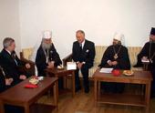 Святейший Патриарх Сербский Ириней принял делегацию Русской Православной Церкви