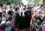 C 30 сентября по 4 октября 2010 года состоялся Первосвятительский визит Святейшего Патриарха Кирилла в Калининградскую епархию
