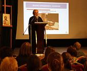 Председатель Синодального отдела по церковной благотворительности выступил на открытии православного лектория