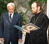 Постоянный представитель Российской Федерации при отделении Организации Объединенных Наций и других международных организациях в Женеве удостоен высокой церковной награды