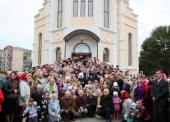 Блаженнейший митрополит Киевский Владимир посетил Уманскую епархию