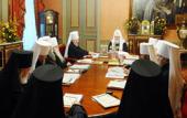 ЖУРНАЛЫ заседания Священного Синода от 6 октября 2010 года
