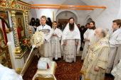 Митрополит Ювеналий совершил освящение храма во имя святого благоверного князя Владимира в Новодевичьем монастыре