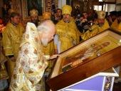 Блаженнейший митрополит Киевский Владимир возглавил в Полтаве торжества по случаю прославления в лике святых епископа Афанасия (Вольховского)