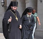 На Святую землю прибыл исполняющий обязанности начальника Русской духовной миссии Зарубежной Церкви