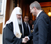 Состоялась встреча Святейшего Патриарха Кирилла с Президентом Германии