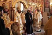 Митрополит Волоколамский Иларион возглавил Божественную литургию на Подворье Русской Православной Церкви в Токио