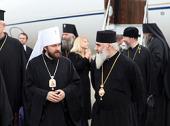 Митрополит Волоколамский Иларион прибыл в Грузию для участия в торжествах по случаю 1000-летия собора Светицховели