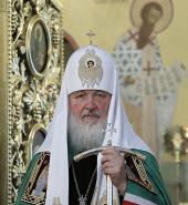 Слово Святейшего Патриарха Кирилла после Божественной литургии в престольный праздник Покровского храма Московских духовных школ