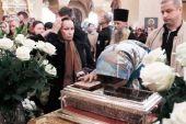 Завершилось пребывание в России десницы святителя Спиридона Тримифунтского