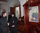 Председатель Отдела внешних церковных связей посетил святыни Алавердской епархии (Грузия)