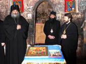 Митрополит Волоколамский Иларион поклонился святыням Некресской епархии Грузинской Православной Церкви и посетил монастырь святой равноапостольной Нины в Бодбе