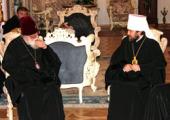 Святейший Католикос-Патриарх всея Грузии встретился с главой делегации Русской Православной Церкви