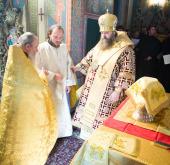 Cовершена первая за 85 лет священническая хиротония среди братии Высоко-Петровского монастыря
