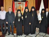 Завершился визит делегации Российской Федерации на Святую Землю, посвященный празднованию 10000-летия Иерихона
