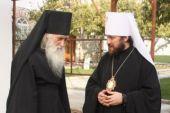 Состоялась беседа председателя ОВЦС с братией Свято-Пантелеимонова монастыря