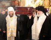 Состоялось отпевание и погребение епископа Архангельского и Холмогорского Тихона