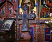 В Москву привезена древняя святыня — крест преподобного Савватия Соловецкого