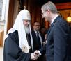 Встреча Святейшего Патриарха Кирилла с президентом Германии Кристианом Вульфом