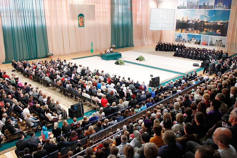 Встреча Святейшего Патриарха Кирилла с общественностью Московской области в г. Орехово-Зуево