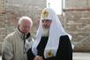 Патриарший визит в Калининградскую епархию. Посещение строящегося храма в честь святого благоверного князя Александра Невского в г. Балтийске