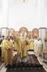 Патриарший визит в Калининградскую епархию. Чин освящения храма в честь святого великомученика Георгия Победоносца в Калининграде и Божественная литургия в новоосвященном храме