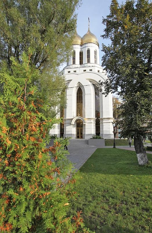 Патриарший визит в Калининградскую епархию. Кафедральный собор Христа Спасителя в Калининграде