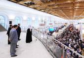 Святейший Патриарх Кирилл возглавил церемонию открытия IX выставки-форума «Православная Русь — к Дню народного единства»