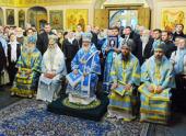 В праздник Казанской иконы Божией Матери Святейший Патриарх Кирилл совершил Божественную литургию в Казанском соборе на Красной площади