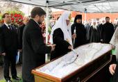Предстоятель Русской Православной Церкви принял участие в отпевании В.С. Черномырдина