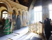 Слово Святейшего Патриарха Кирилла в возрожденном храме в честь Казанской иконы Божией Матери Богородице-Рождественского монастыря