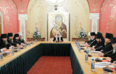 Святейший Патриарх Кирилл возглавил очередное заседание руководителей Синодальных учреждений Русской Православной Церкви