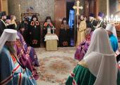 Святейший Патриарх Кирилл совершил наречение архимандрита Варнавы (Сафонова) во епископа Павлодарского и Усть-Каменогорского