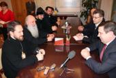 Митрополит Волоколамский Иларион посетил Чернигов