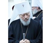 Патриаршее поздравление Блаженнейшему митрополиту Киевскому и всея Украины Владимиру с 75-летием со дня рождения