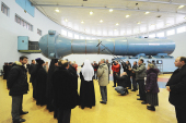 Предстоятель Русской Церкви посетил Центр подготовки космонавтов им. Ю.А. Гагарина