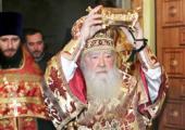 В Екатерининской пустыни г. Видное всю ночь совершались молебны перед принесенными мощами святой великомученицы Екатерины