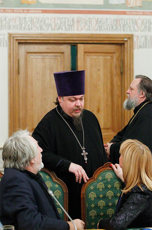 Первое заседание Патриаршего совета по культуре