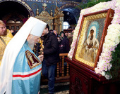 Более 150 тысяч человек поклонились Серафимо-Дивеевской иконе Божией Матери «Умиление» во время ее пребывания на Украине