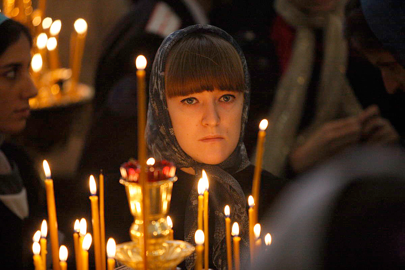 Первосвятительский визит в Екатеринодарскую епархию. Божественная литургия в Войсковом Александро-Невском соборе г. Краснодара
