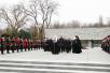 Первосвятительский визит в Екатеринодарскую епархию. Возложение венка к Вечному огню в Краснодаре