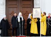 Слово Святейшего Патриарха Кирилла после Божественной литургии в Войсковом Александро-Невском соборе г. Краснодара