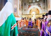 Слово Святейшего Патриарха Кирилла при вручении жезла Преосвященному Иннокентию, епископу Уссурийскому, викарию Владивостокской епархии