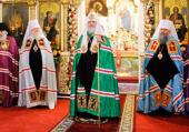 Слово Святейшего Патриарха Кирилла после Божественной литургии в Екатерининском соборе г. Краснодара