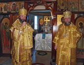 Глава Митрополичьего округа в Республике Казахстан и управляющий Патриаршими приходами в США совершили Божественную литургию в храме равноапостольного князя Владимира г. Майами